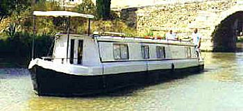 English style narrowboat